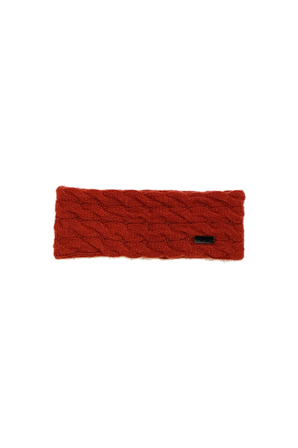 Qiviuk Cable headband in red by Qiviuk Boutique
