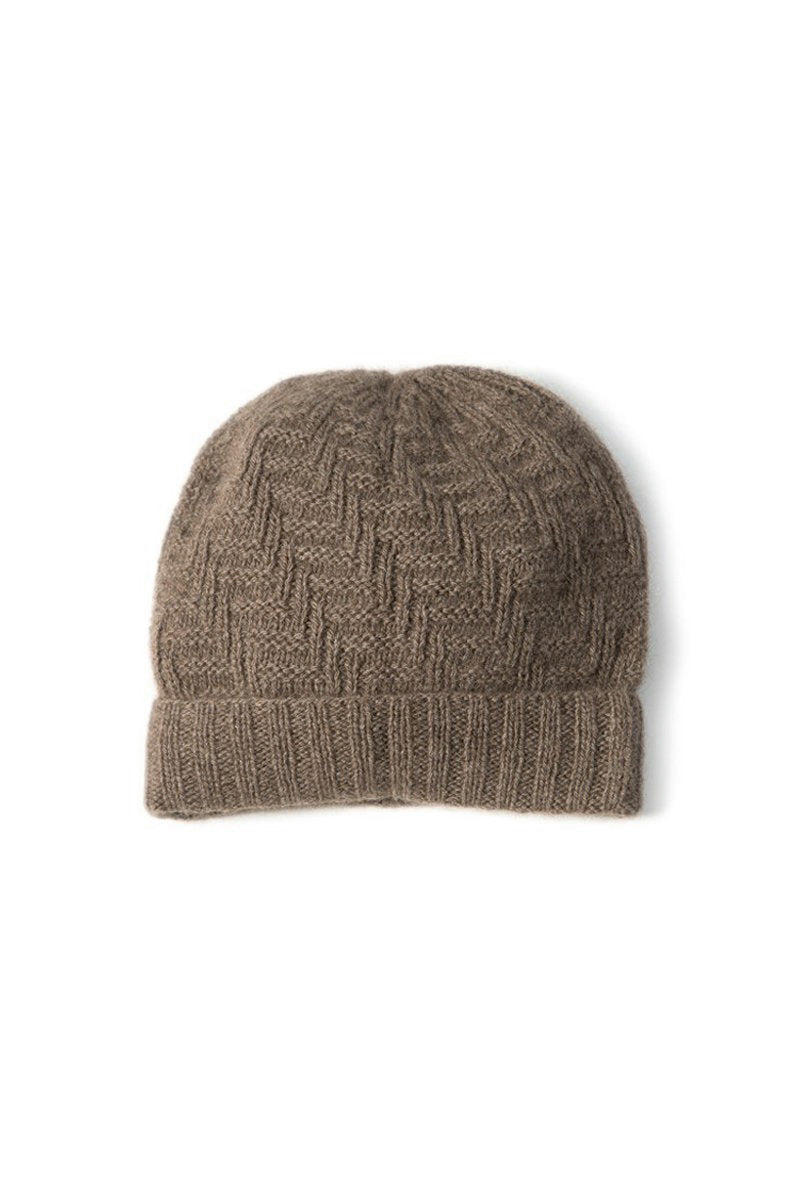 Qiviuk Joel toque in natural by Qiviuk Boutique