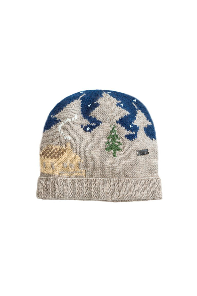 Qiviuk, Merino & Silk Cabin toque by Qiviuk Boutique