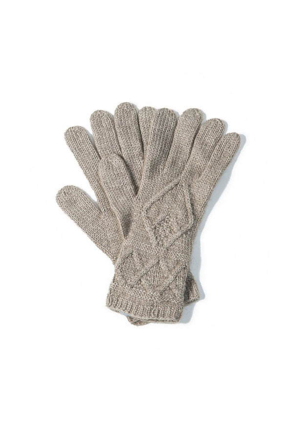 Qiviuk, Merino & Silk Mena gloves by Qiviuk Boutique