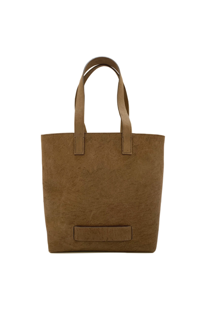 Muskox leather Medium Tote bag in Light brown by Le Feuillet for Qiviuk Boutique