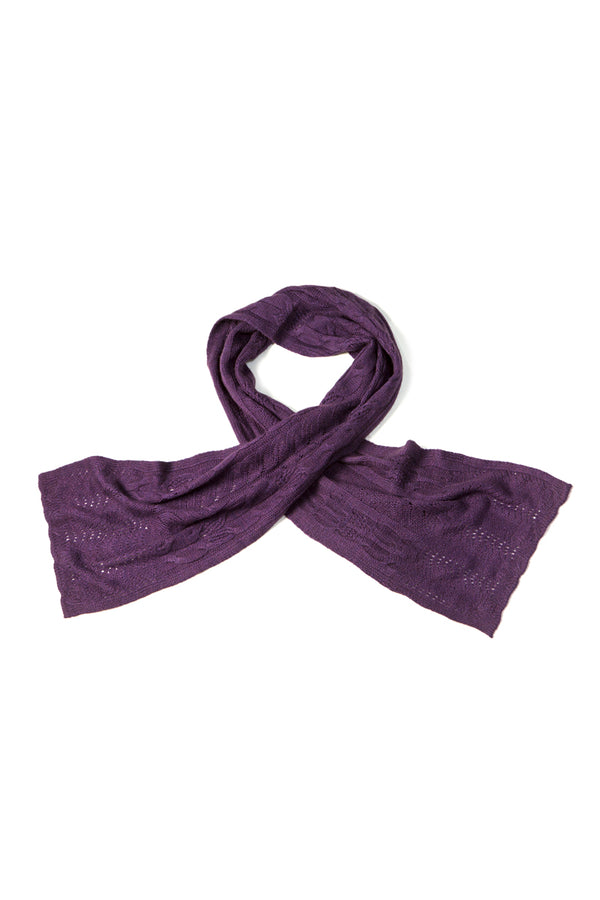Qiviuk, Merino and Silk Zaira ladies scarf by Qiviuk Boutique