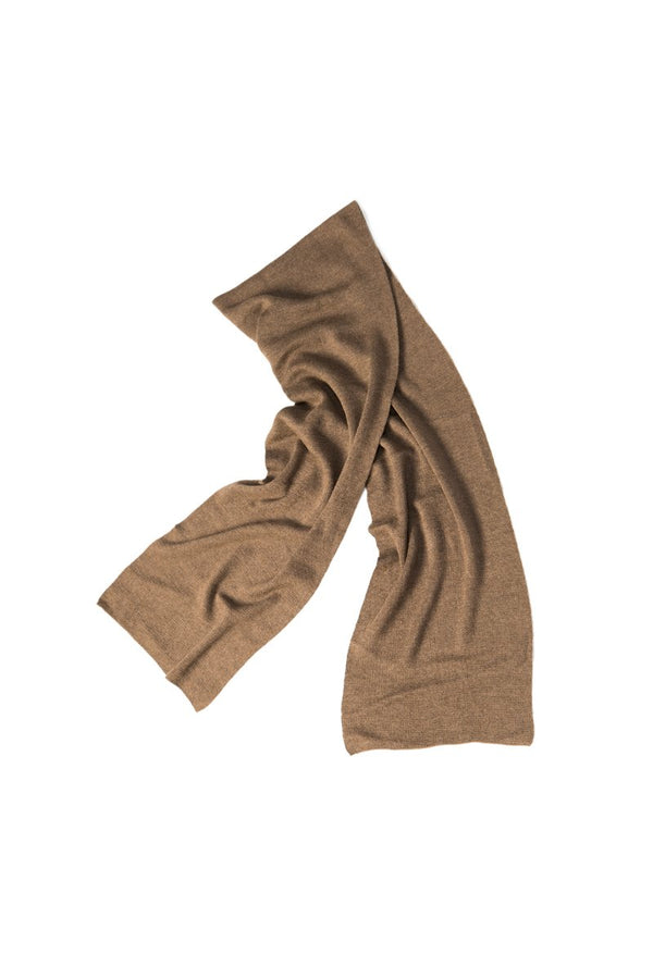 Qiviuk Gigi unisex scarf in natural by Qiviuk Boutique