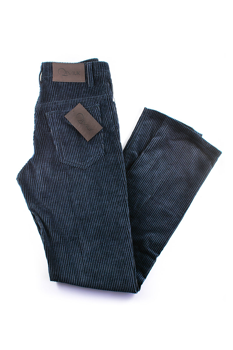 Cotton and Cashmere men's corduroy pants by Qiviuk Boutique