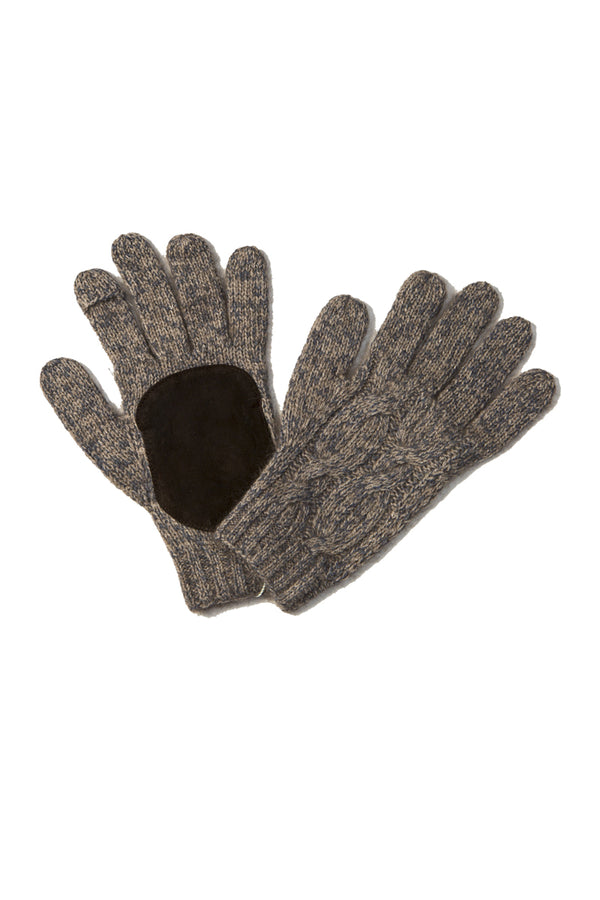 Qiviuk, Merino & Silk Robert men's gloves by Qiviuk Boutique