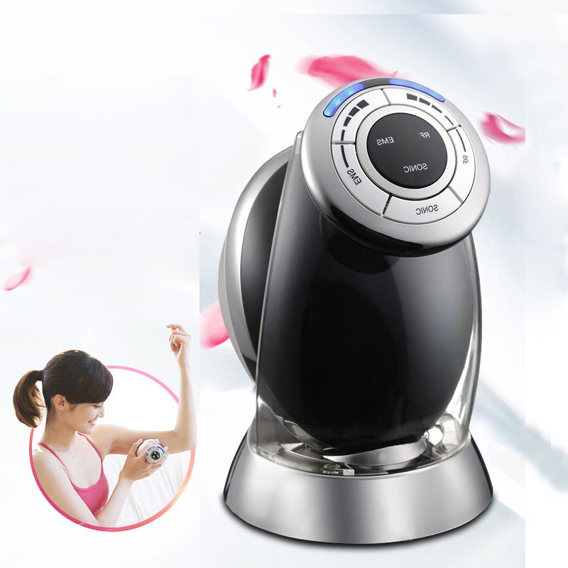 New 3 IN 1 EMS RF ULTRASONIC Cavitation Fat Burner Dissolve Lipo Massager Body Slimming Shaping Fitness Beauty Instrument