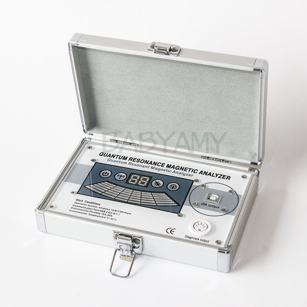 EHM Quantum Magnetic Resonance Body Analyzer 45 Reports English & Spanish Or other languages