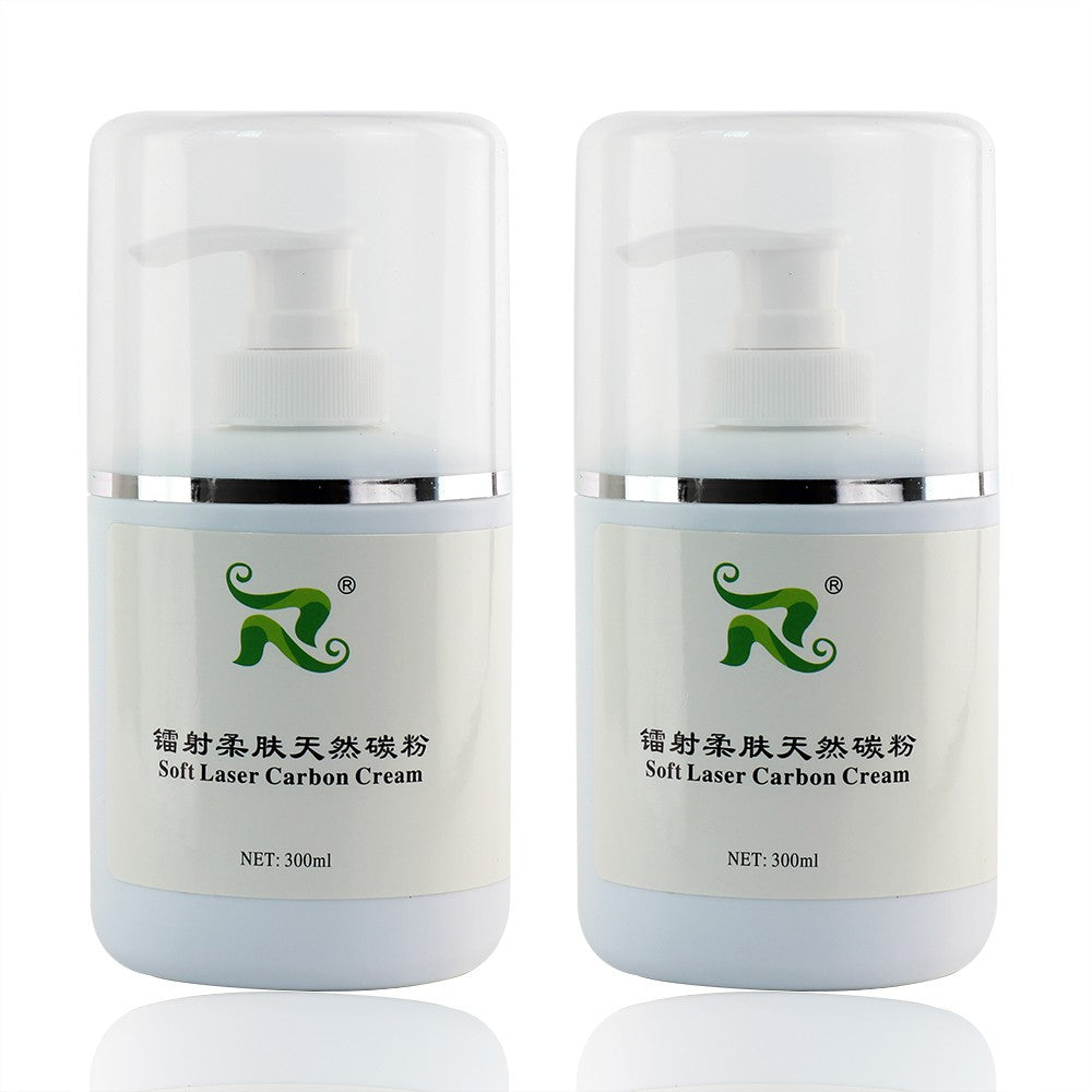 300ml Soft Carbon Cream Nano Carbon Gel Cream For Nd:YAG Skin Whitening 2pcs/Set