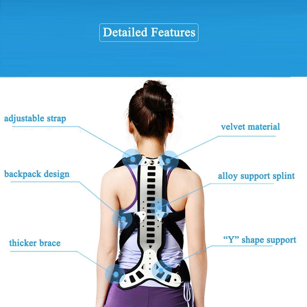 1Pcs Posture Corrector Back Support Comfortable Back and Shoulder Brace for Men Women - Medical Device to Improve Bad Posture
