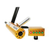 The real gold Underground AKS 3D Metal Detector with 6 pieces Signal booster Long Range Diamond Gold Silver Copper Detector