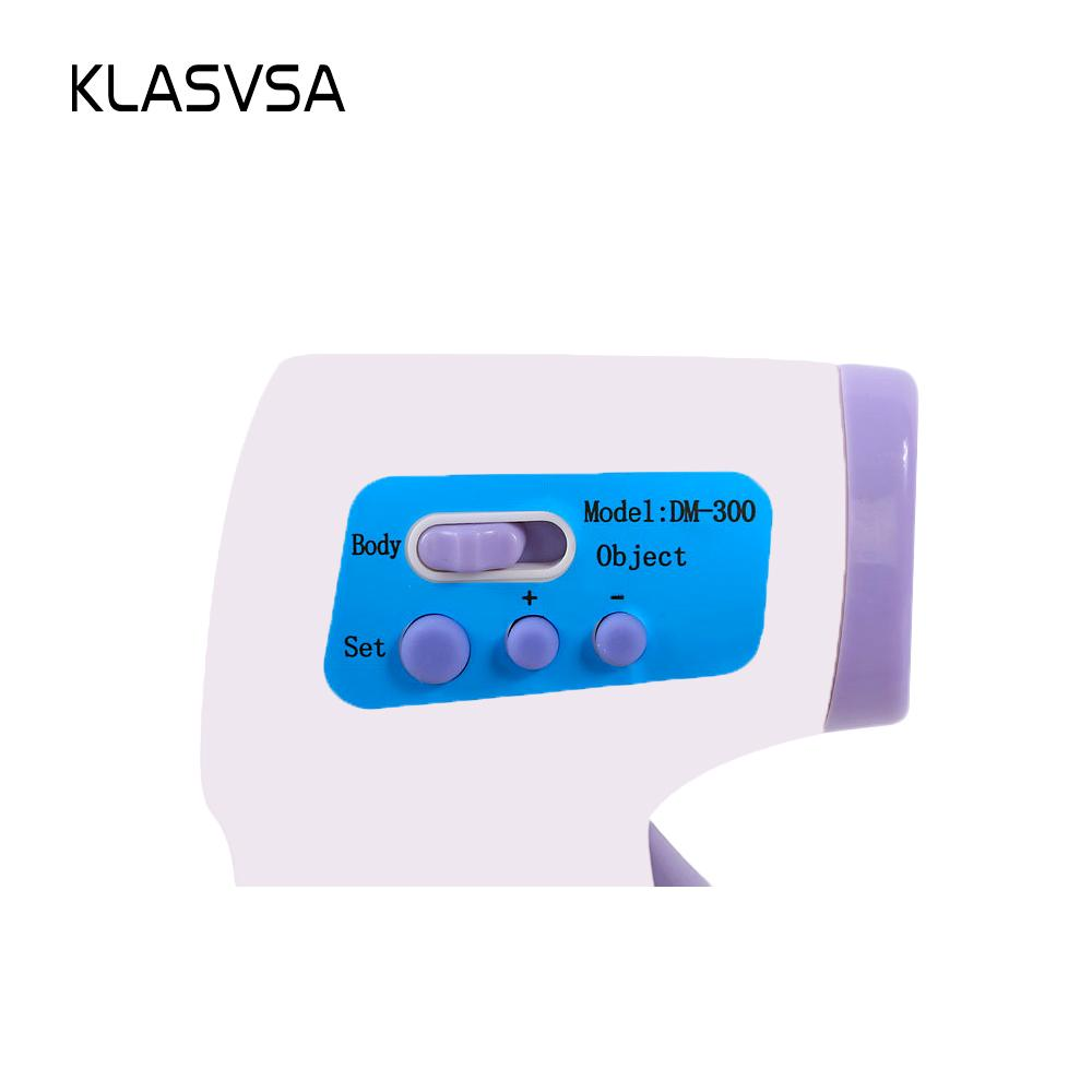 Infrared Digital LCD Baby Thermometer High Temperature Alarm Ear Forehead Non-contact IR Temperature Measurement Gun Pyrometer