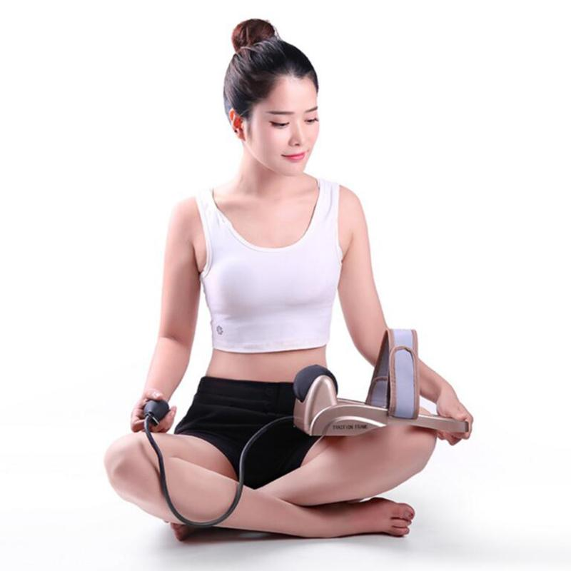 High quality Portable Pneumatic cervical vertebra tractor home health care toolNeck posture pump Neck spine traction