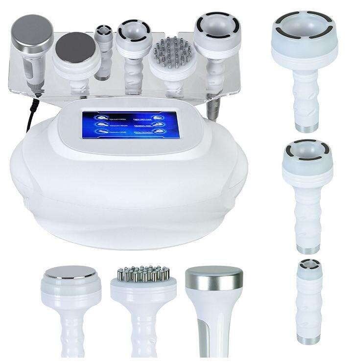 Ultrasonic 80K 40K 25K Cavitation Radio Frequency RF Vacuum Skin Care Massager Slimming Machine