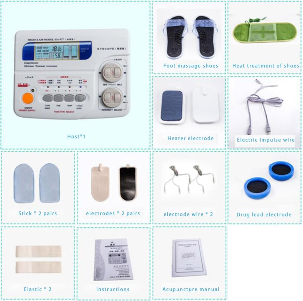 Body massager lumbar cervical spondylopathy shoulder Zhou Jinglao in low-frequency electronic instrument