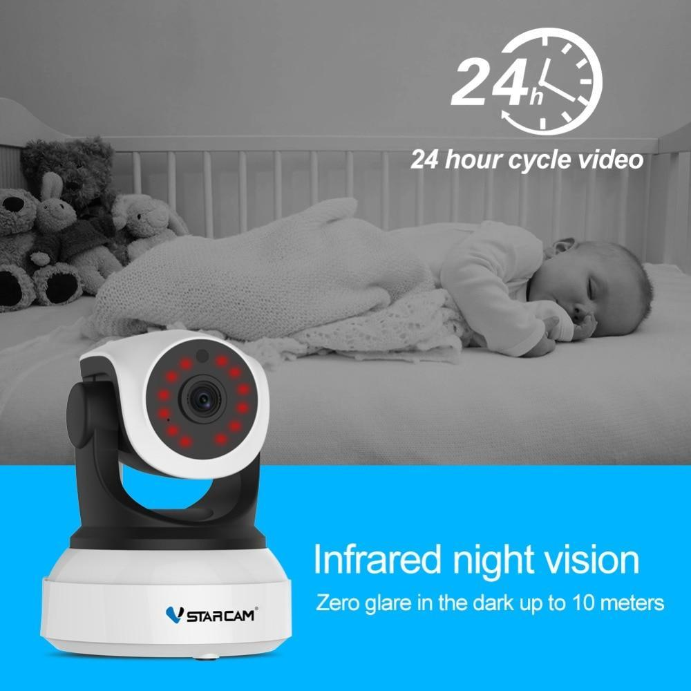 VStarcam C24S 1080P HD Wireless Security IP Camera Wifi IR-Cut Night Vision Audio Recording Network Indoor Baby Monitor