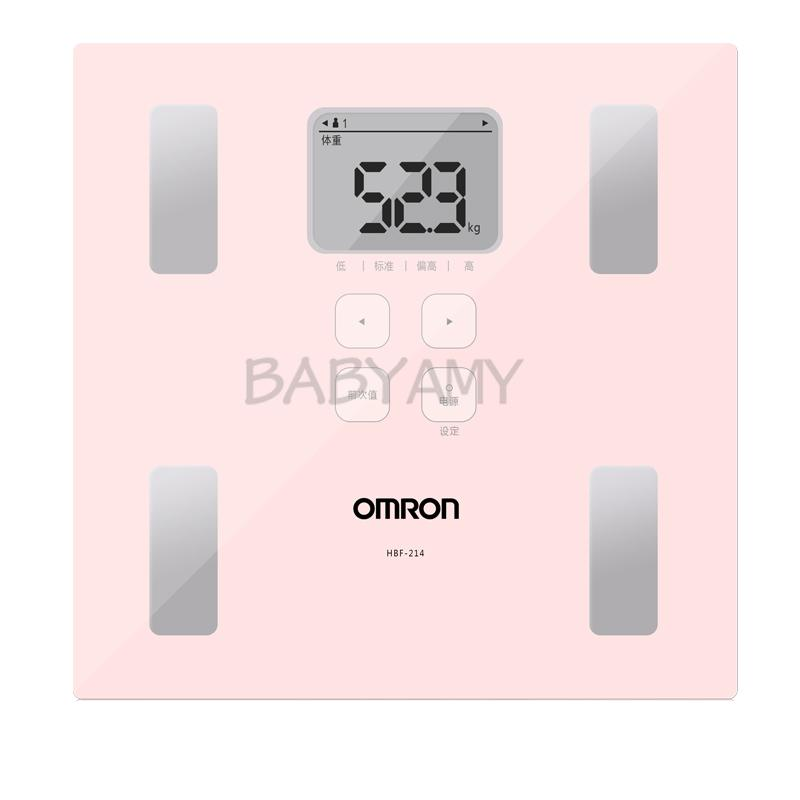 Omron Body Composition Monitor Weight Scale HBF-214