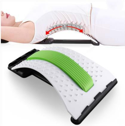 HANRIVER High quality Prominent lumbar tractor waist belt massage home stretch back support cushion for leaning on of spine