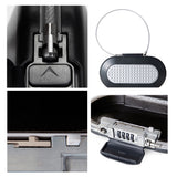 Master lock portable safe password lock mini safe jewelry cash card mobile phone storage box