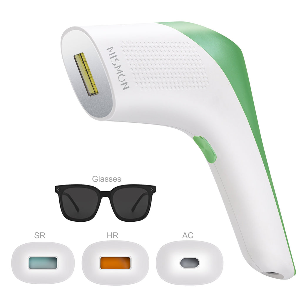 MISMON MS-208B 3 in 1 Laser Epilation Machine Painless Permanent Hair Removal System ICE Cool Skin Rejuvenation Remove Acne