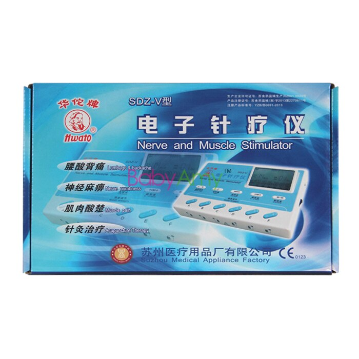 SDZ-V LCD Electrical Acupuncture Therapy. Nerve and muscle stimulator Therapy. 6 Channel TENS Stimulator Massager.
