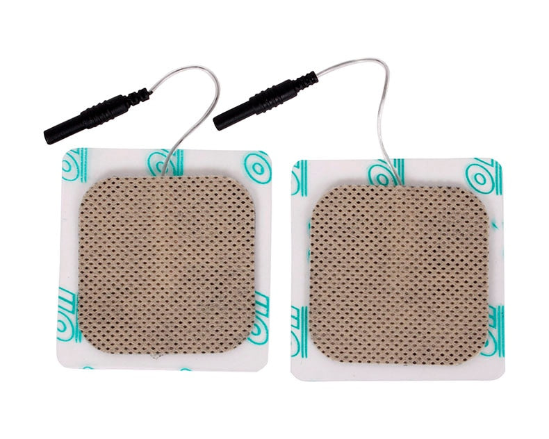 20pcs/lot(10 pairs) 5*5cm Safe Electrode Pads for Hwato SDZ-II SDZ-III SDZ-IIB Electro Acupuncture Stimulator Machine