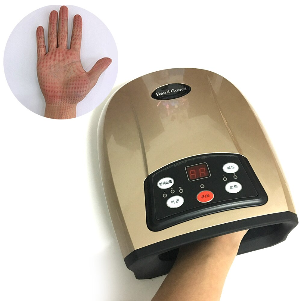 Air Press Palm Massager Air Compression Circulation Hand Fingers Physiotherapy Rehabilitation Spasm Dystonia Hemiplegia Stroke