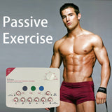 Gimnasia Pasiva Fat Burning Exercise Electric Muscle Training Smart Fitness Muscle Stimulator Massager Passive Exercise