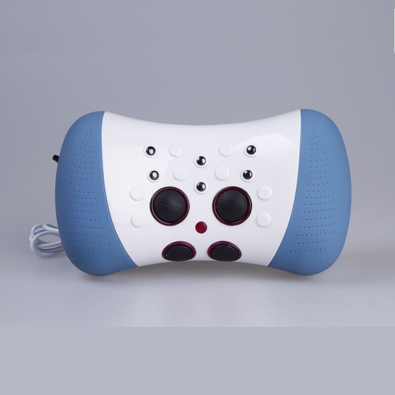 JMRON CR-701 Neck Traction Massager Electric Cervical Vertebra Massage Electronic Acupuncture Magnetic Therapy Heating Pillow