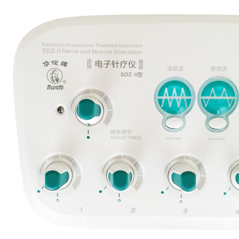 Hwato SDZ-II Upgrade Electronic Acupuncture Stimulator Machine 6 output channel Acupuncture Therapeutic Apparatus 100V-240V