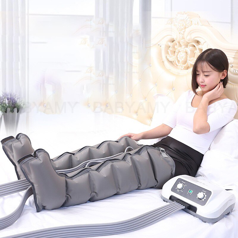 Air Compression Leg Wraps Massager Circulation Leg Wraps Healthcare Foot Pneumatic Compression Massager for Relax lose weight