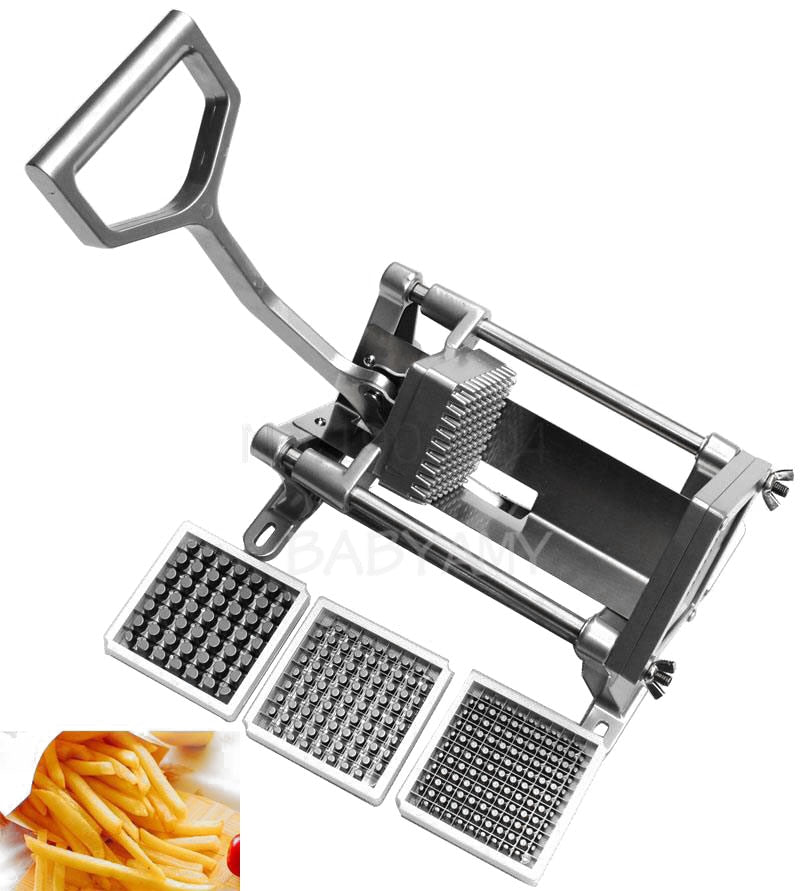Commercial Fast Heavy Duty French Fry Cutter Potato Slicer Hotel Vegetables 8cm 10cm 12cm Potato Cutter Slicer Radish Slice