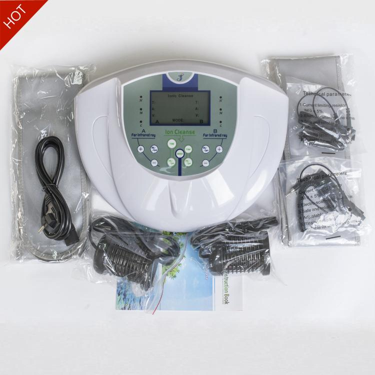 Dual System Ion Cleanse Foot Bath Detox Machine Foot Detoxification Machine