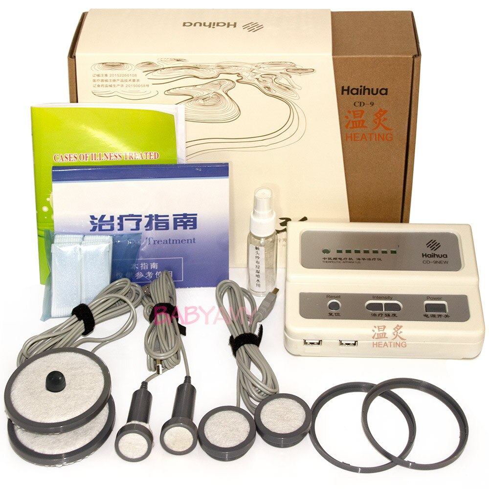 Haihua CD-9 Serial Heated type QuickResult Therapeutic Apparatus Electrical Stimulation Acupuncture Therapy Device