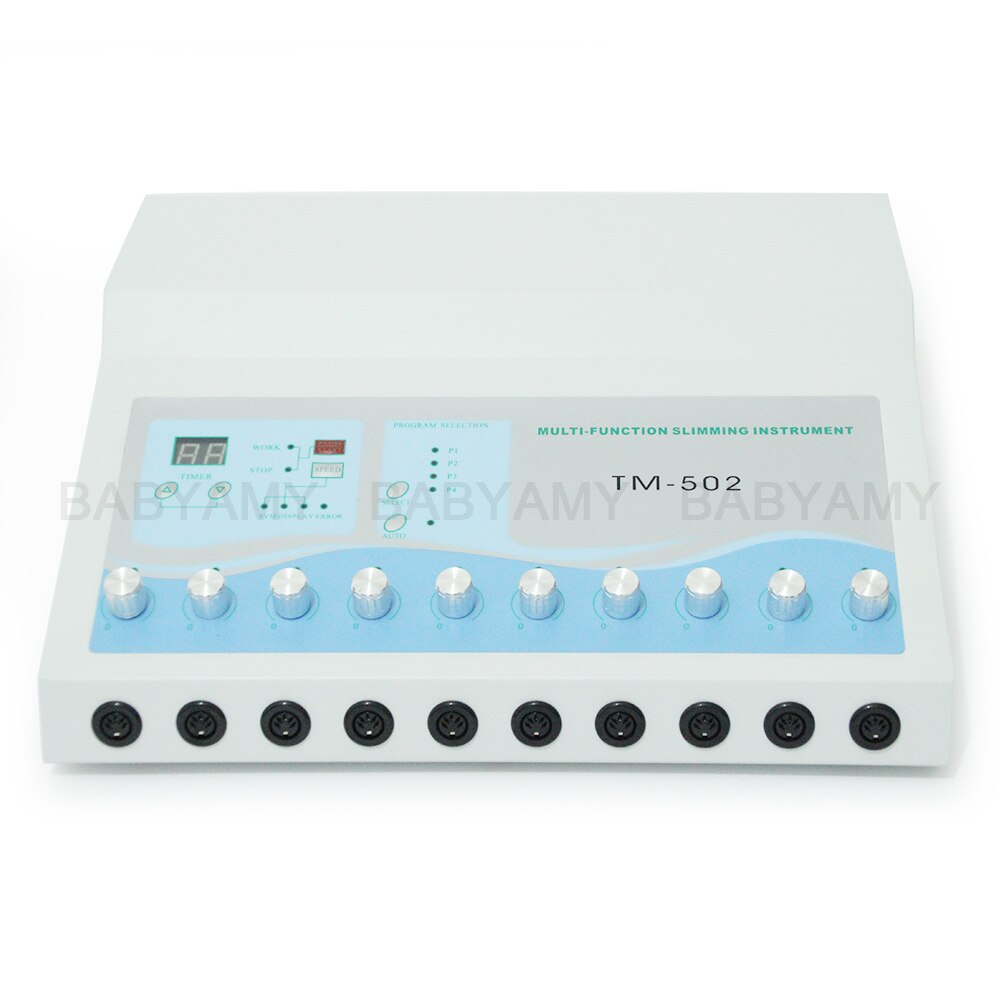 TM-502 Weight Loss machine ems muscle stimulator Electrostimulation Machine Russian Waves ems Electric Muscle Stimulator