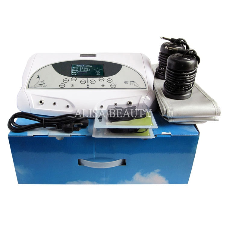Health Care Negative Ionic Foot Detox Machine Foot Bath Body Purification Ion Detox Spa Foot massager