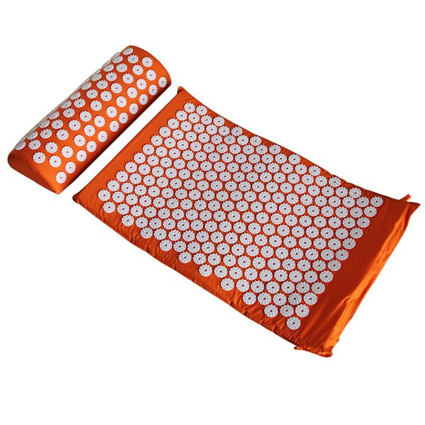 Health Care Pain Relief Acupuncture Massager Cushion for Shakti Acupressure Yoga Body Massage Mat