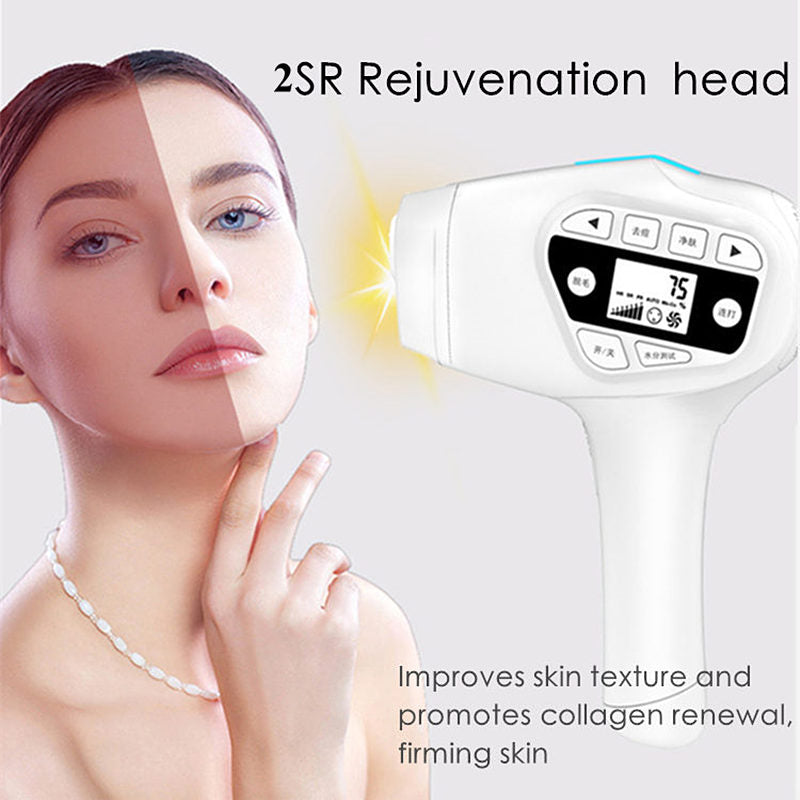 4 in 1 Permanent Hair Removal IPL Hair Removal laser Epilator Device facial hair remover for women man armpit bikini beard legs