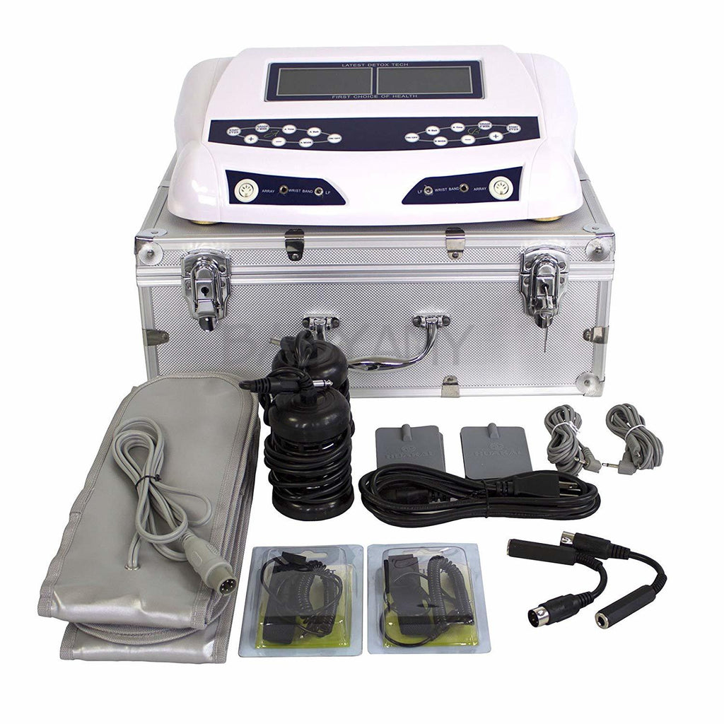Foot Spa Detoxification Ion Cleanse Detox Machine Water Body Relax Hydrosana Ion Cleanse Detox Foot Spa Machine