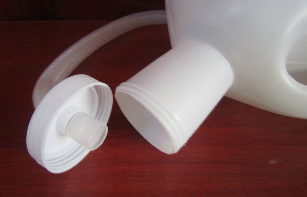 2000ML High capacity male urinal for old man Urine collector with 1.3M tube 1 Brush