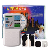 Microcomputer Therapeutic Apparatus Massage Electrical Stimulation Acupuncture Therapy Relax Health Care for Foot Ear Body Care
