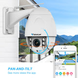 VStarcam Wireless PTZ Dome IP Camera Outdoor 1080P FHD 4X Zoom CCTV Security Video Network Surveillance Security IP Camera Wifi