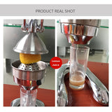 Manual Juicer Squeezer Lemon Fruit Pressing Machine Hand Press Juicer Home