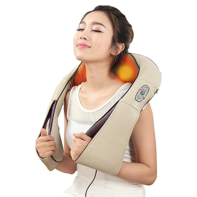 Body Massager Massage Shawl Kneading Massage Device Red-light physiotherapy Chinese Massage Instrument Women Beauty Care Master