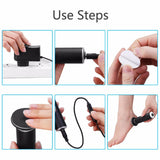 Electric Callus Remover Electronic Foot File Hard Dead skin Polisher Exfoliating Grinding Feet Clean Care Tools Smooth Machine