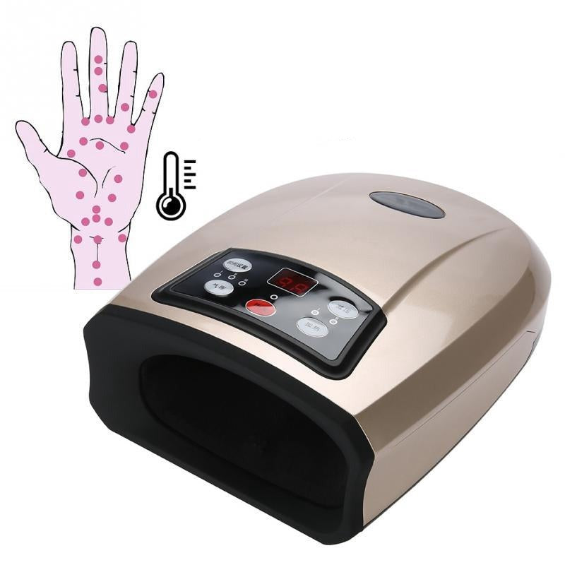 Electric Acupressure Palm Hand Massager Protector Beauty Hand Care Relax Tools