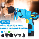 High Frequency Percussion Massage Gun Handheld Deep Muscle Massager