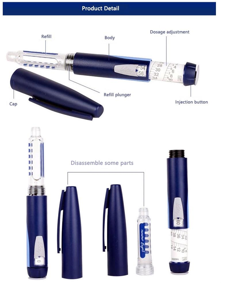 High Quality Portable Insulin Pen Diabetes Patients Use Travel Home Insulin Injection For Diabetes