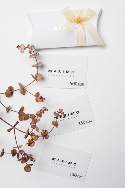 EXCLUSIVE MARIMO GIFT CARD