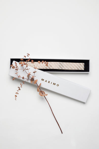 PATTERNED SWAROVSKI BELT