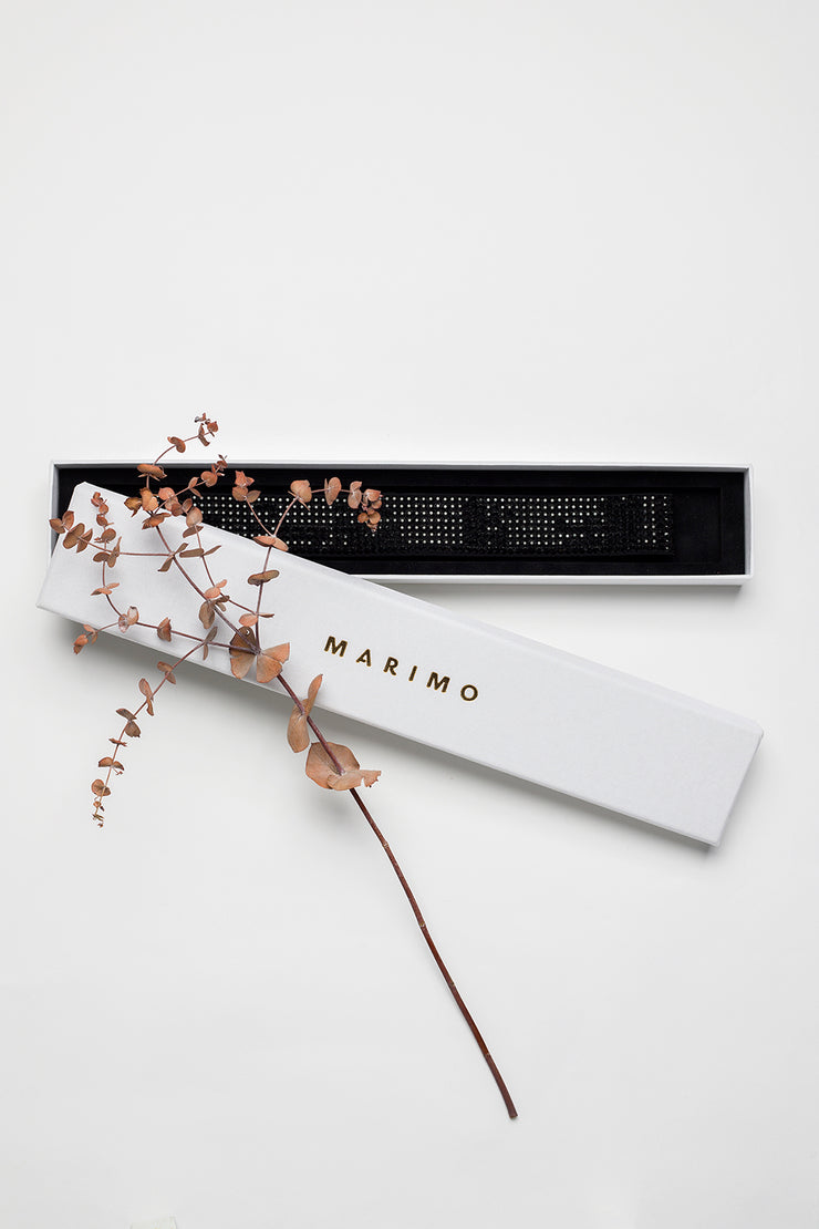 WIDE SWAROVSKI BELT